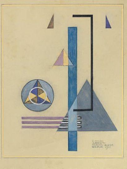 Herbert BAYER (Haag an Hanruck 1900-1985 Montecito, CA)