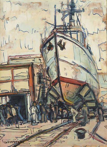 Mieczyslaw LURCZYNSKI (Saint-Pétersbourg 1907-1982 Paris)