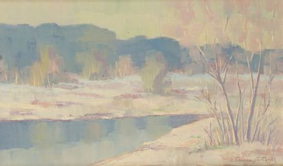Vitold BIALYNITSKI-BIRULIA (Krynki 1872-1957 Moscou)