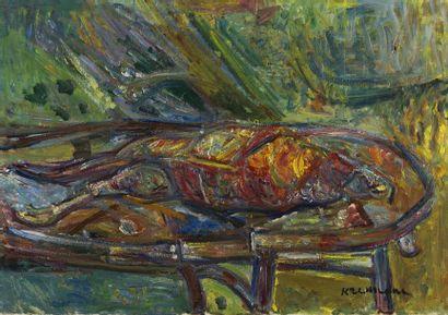Pinchus KREMEGNE (Zaloudok 1890-1981 Céret)