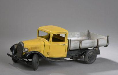 CITROEN Camion T23 Benne Jaune 1936 - échelle...