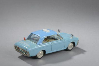 JAPAN ICHICO- Ford TaunusTaxi Bleu n°573  Dim. 8x23 cm