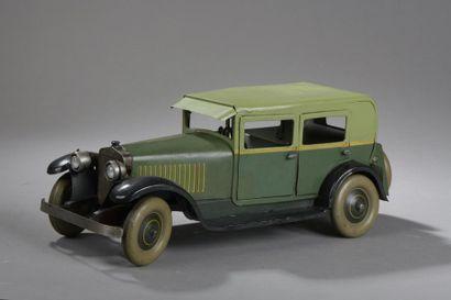 JEP Berline Renault 1925 - Série 7392 - Verte...