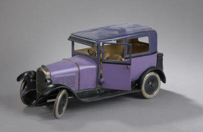 CITROEN Berline Mauve C4 1932 - échelle 1/10e...