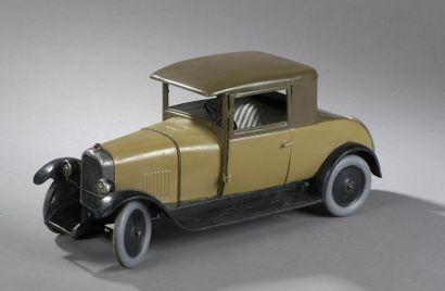 CITROEN Coupé Beige C6 1933 - échelle 1/10e...