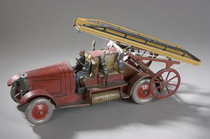 JEP Camion Pompiers n°7390 -1931  Long. 43...