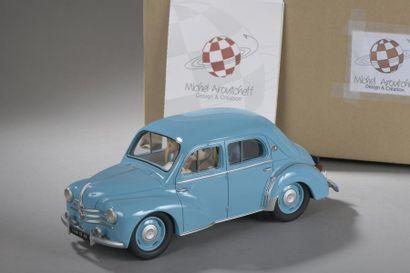 AROUTCHEFF Michel - Renault 4CV Gil Jourdan...