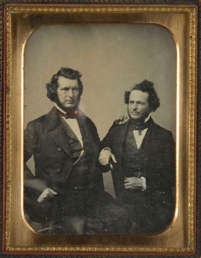 Daguerréotypistes non identifiés  Portraits,...