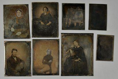 Daguerréotypistes non identifiés  Portraits...