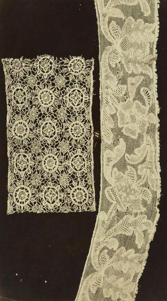 G. Rossi et divers  Dentelles, c. 1880.  Portfolio...