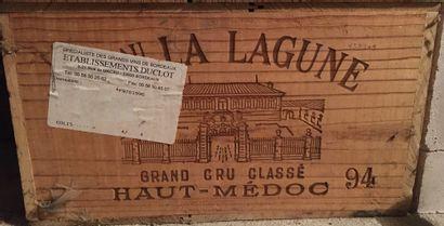 12 bouteilles de Château LA LAGUNE Grand...