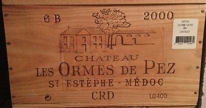 6 bouteilles de Château LES ORMES DE PEZ...