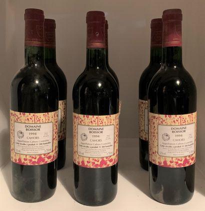 6 bouteilles de CAHORS 1994 du Domaine B...