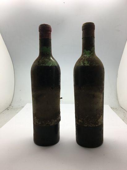 2 bouteilles de Château CHEVAL-BLANC, millésime...