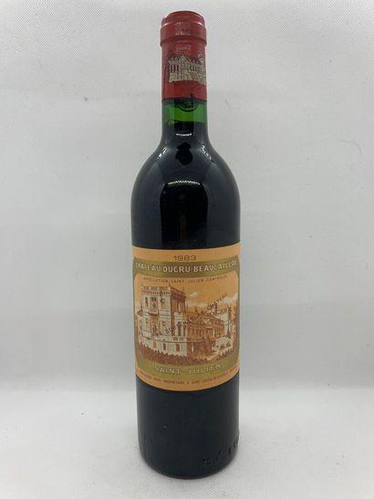 1 bouteille de Château DUCRU-BEAUCAILLOU,...