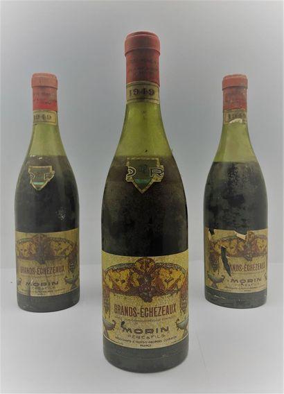 4 bouteilles de Grand Echezeaux, négociant...