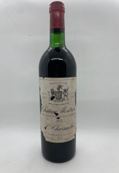 1 bouteille de Château MONTROSE Saint-Estèphe...