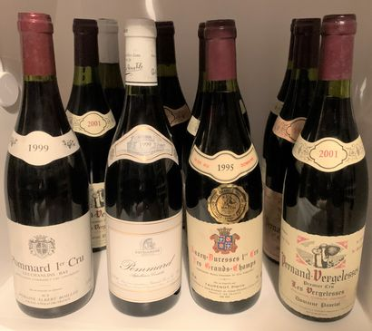 12 bottles including 5 PERNAND-VERGELESSES...