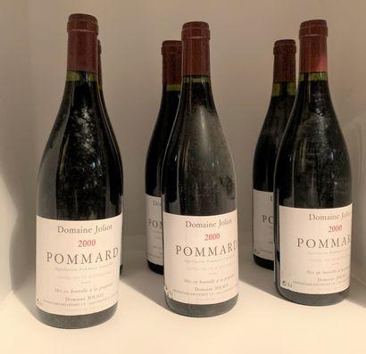 6 bottles of POMMARD 2000 from Domaine J...