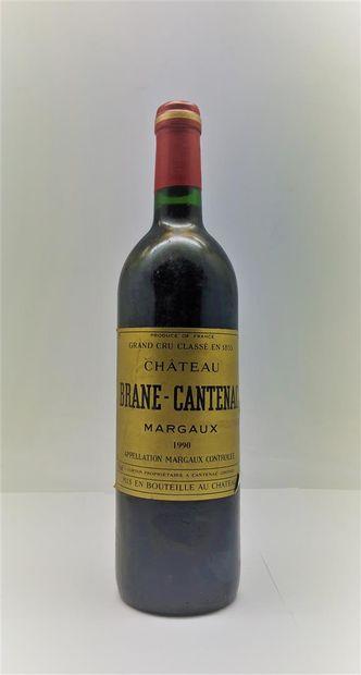 1 bouteille de Chateau BRANE-CANTENAC Margaux...