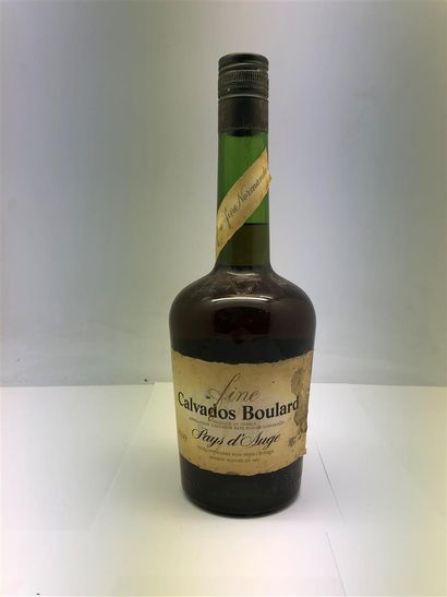 1 bouteille de CALVADOS Boulard, pays d'...