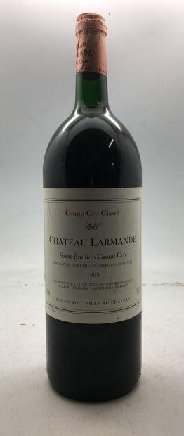 1 Magnum Château LARMANDE Saint-Emilion...