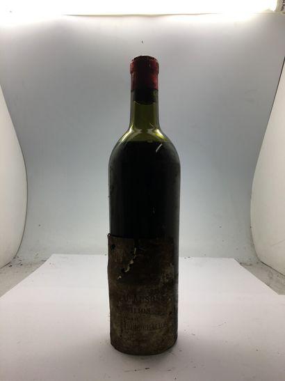 1 bouteillle de Château AUSONE Saint-Emilion...