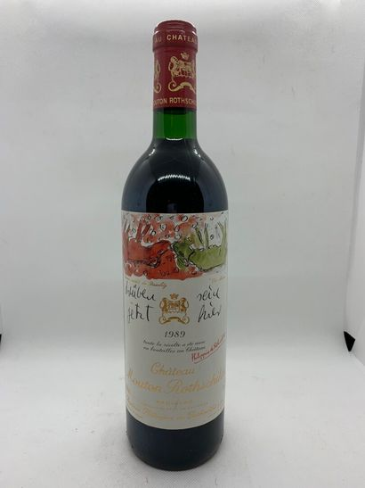 1 bouteille de Château MOUTON-ROTHSHILD Pauillac...