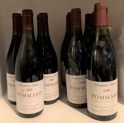 12 bottles of POMMARD from Domaine Joliot,...