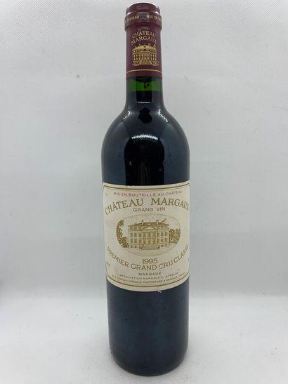 1 bouteille de Château MARGAUX Premier Grand Cru Classé, Margaux 1995, étiquette...