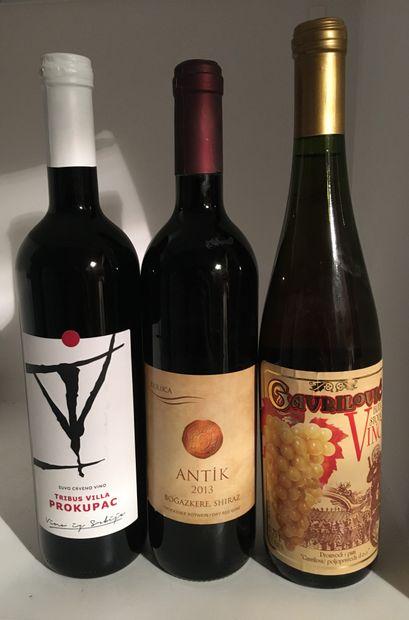 3 bouteilles dont 1 blanc de Gavrilovic CROATIE,...