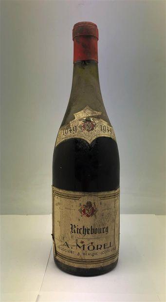 1 bouteille de Richebourg 1949 A. Morel,...