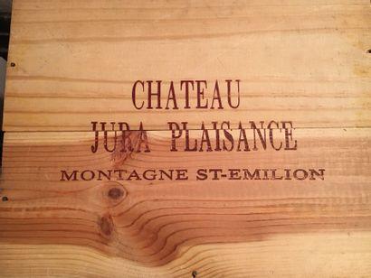 6 bottles of Château JURA PLAISANCE Montagne Saint-Emilion 2003 in CBO