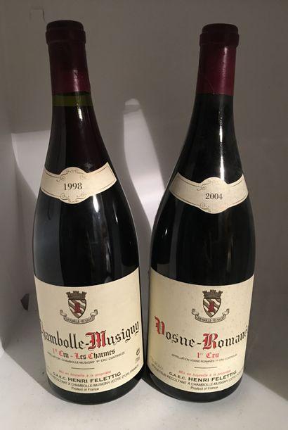 2 magnums of Domaine Henri Felettig including...