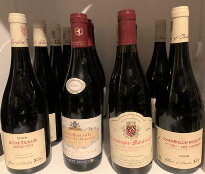 12 bottles including 7 from Gilbert & Christine...