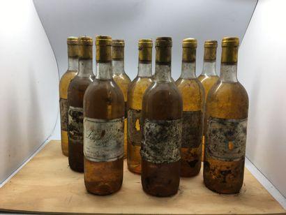 12 bouteilles de Château LOUPIAC-GAUDIET...