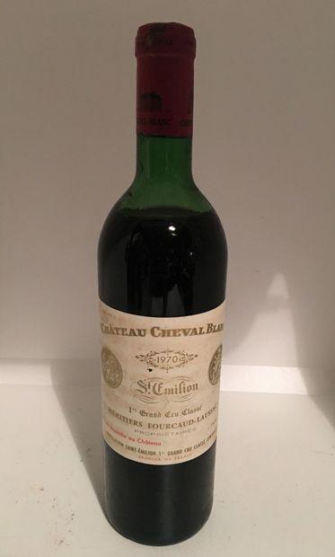 1 bouteille de Château CHEVAL BLANC, 1er...