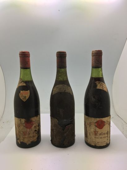 3 bottles of VOLNAY CLOS DES CHÊNES from...
