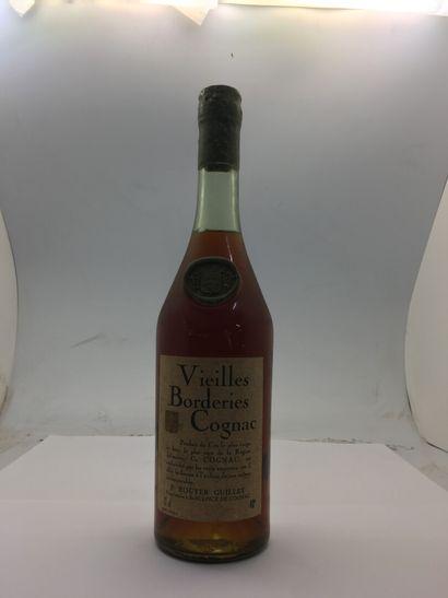 1 bouteille 70 cl de COGNAC VIEILLES BORDERIES...