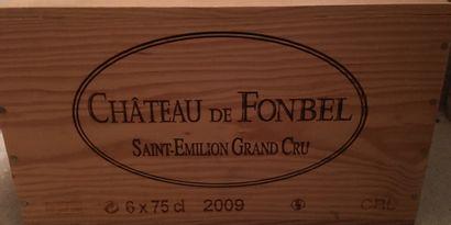 6 bouteilles de Château de FONBEL Saint-Emilion...