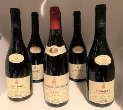 6 bottles of Domaine Grivelet Père et Fils...