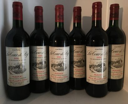 12 bouteilles de Château LA TOUR DE BY Médoc...