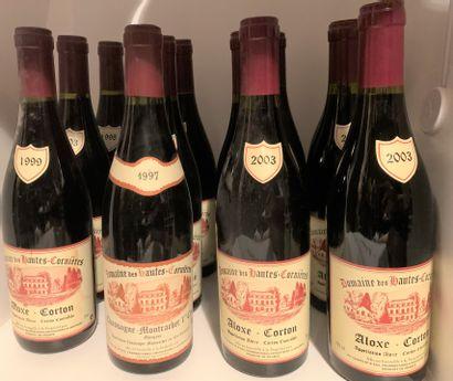 12 bouteilles du Domaine des Hautes-Cornières...