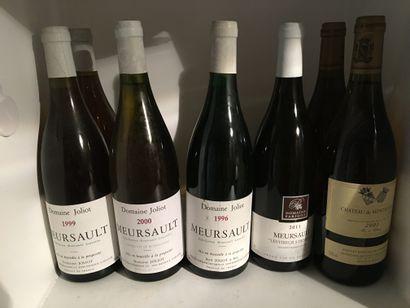 12 bottles including 1 CORTON-CHARLEMAGNE...