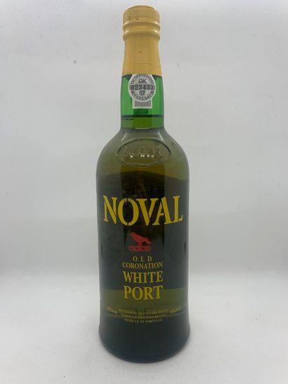 1 bottle of CHARTREUSE VERTE, 1 bottle of WHITE PORT de NOVAL, very slightly lo...