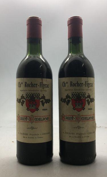 2 Bouteilles Château ROGER-FIGEAC Saint...