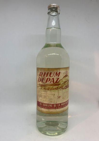 1 bouteille de RHUM Depaz