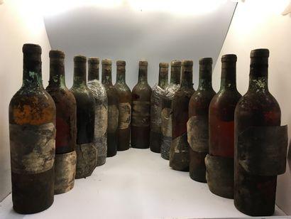 13 bouteilles de Château GRILLON Haut-Barsac...