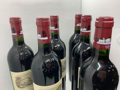 12 bottles of Château LAFITE-ROTHSCHILD PAUILLAC 1998
