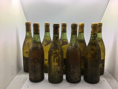 9 bottles of MEURSAULT-PERRIERES from the...